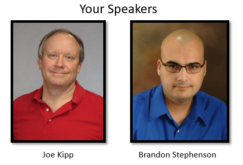 Joe Kipp and Brandon Stephenson from KiZAN