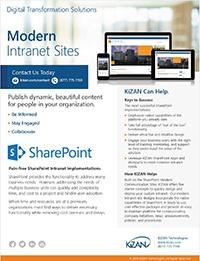 Modern Intranet Sites Offer