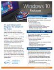 Windows 10 Packaged Offer Flyer