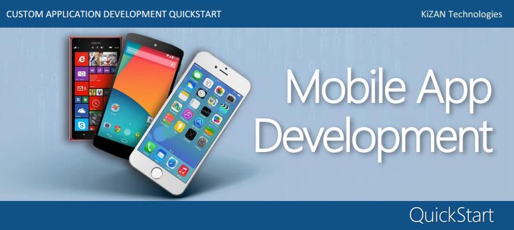 KiZAN Mobile App Dev Quickstart